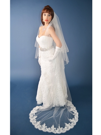Ansonia Veils Style 434C | House of Brides