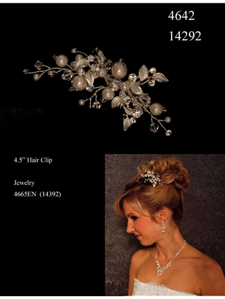 JL Johnson Bridals Hair Clip Style 4642 | House of Brides