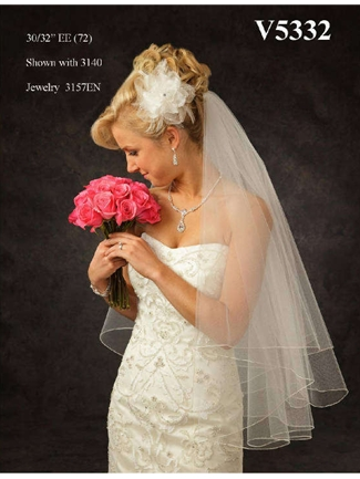 JL Johnson Bridals Veil Style V5332 | House of Brides