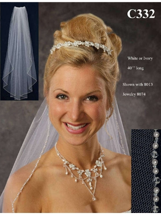 JL Johnson Bridals Veil Style C332 | House of Brides