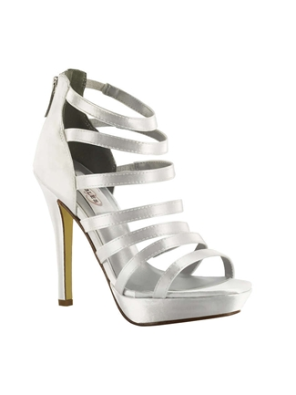 Dyeables Shoes Style Lola White | House of Brides