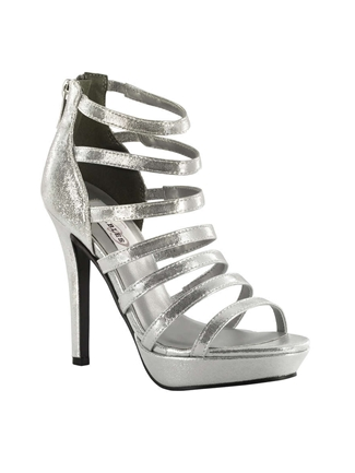 Dyeables Shoes Style Lola Silver Shimmer | House of Brides
