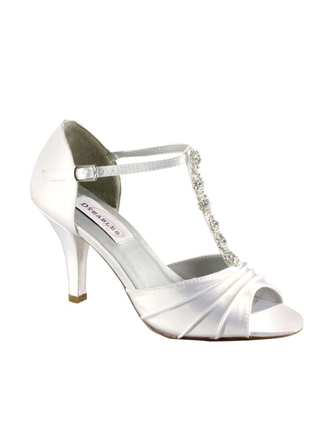 Dyeables Shoes Style Makayla White | House of Brides