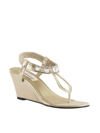 Dyeables Shoes Style Mila Champagne Shimmer | House of Brides
