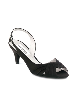 Dyeables Shoes Style Nicky Black | House of Brides