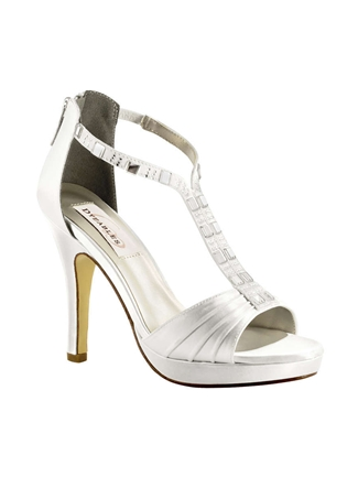 Dyeables Shoes Style Riley White | House of Brides