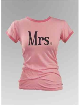 Mrs. Diamond Ring Ringer Tee