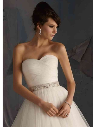 Mori Lee Accessories Bridal Belt Style 11039 | House of Brides