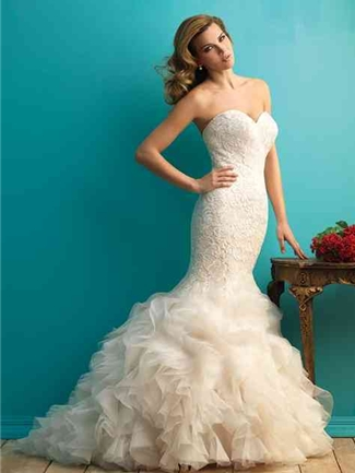 Allure Bridals Wedding Dress Style 9254 | House of Brides