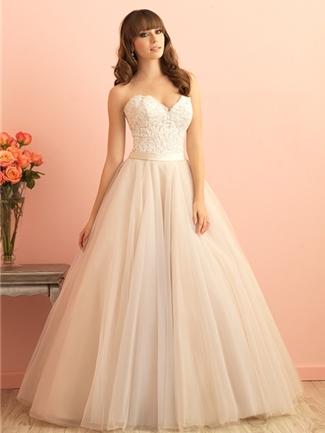 Allure Romance Wedding Dress Style 2853 | House of Brides