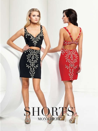 Shorts by Mon Cheri Short Formal Dress Style TS21572 | House of Brides