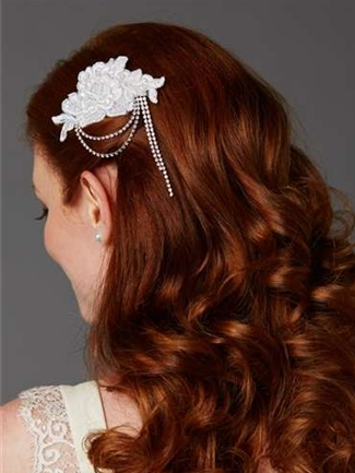 Mariell Bridal Comb Style 4478HC-W | House of Brides