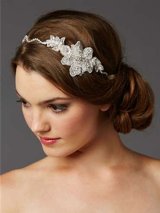 Mariell Bridal Headband Style 4483HB-LTI-S | House of Brides