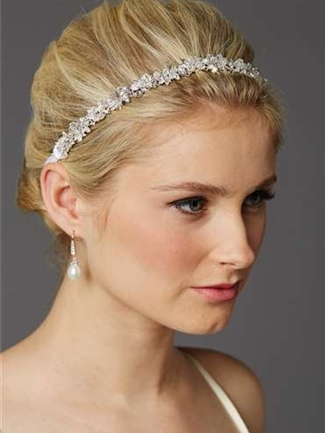 Mariell Bridal Headband Style 4431HB-W | House of Brides